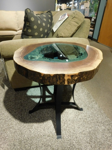 Round Lake End Table
