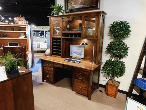 Kensing Wall Desk and Hutch