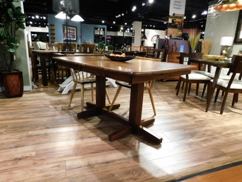 Madison Double Pedestal Table