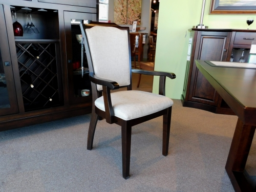 Palmer Arm Chair with Upholstered Back and Seat