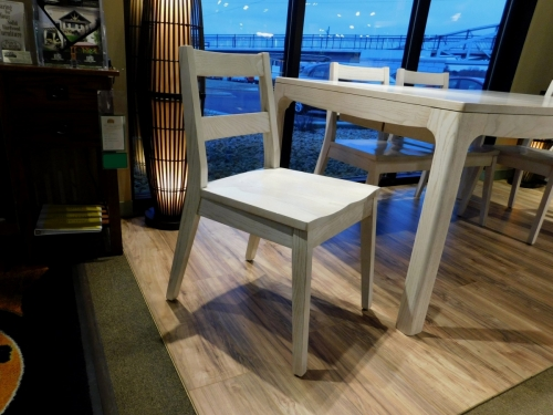 Sonora Side Chair with Wood Seat