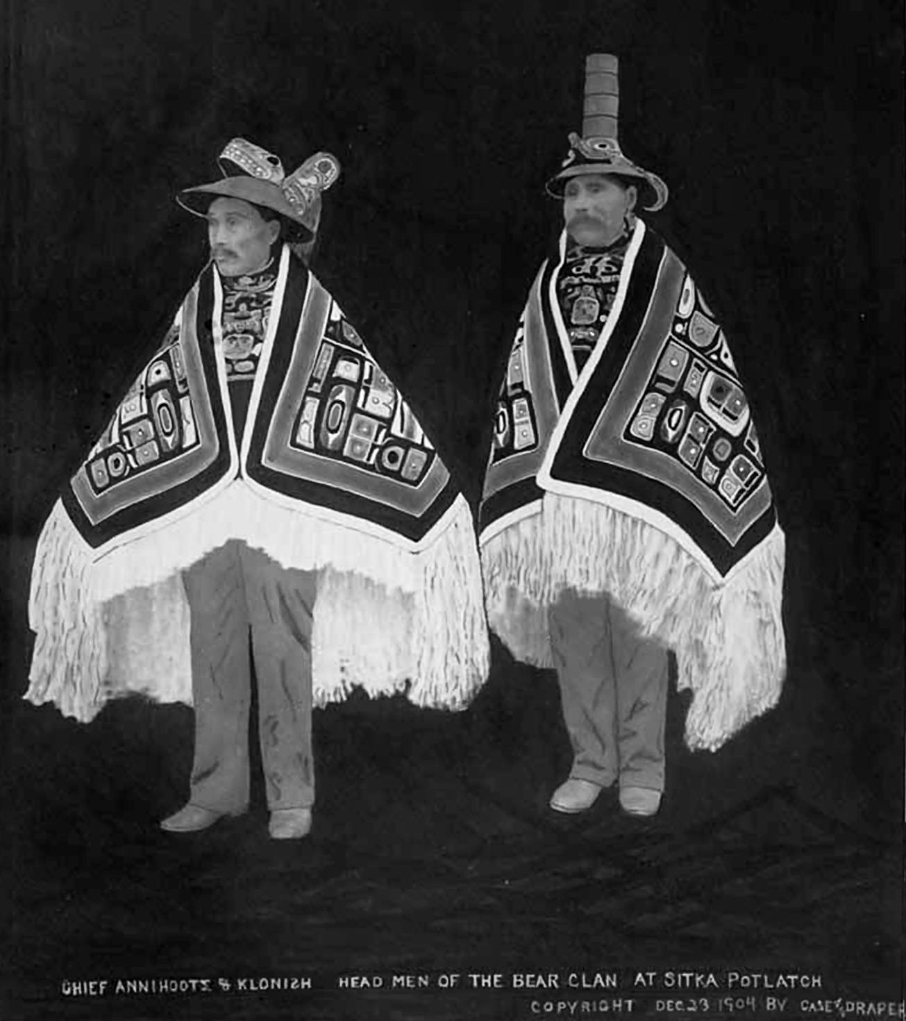Clothing Masks And Weaving Of The First Nations Of The