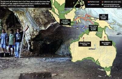 timor map