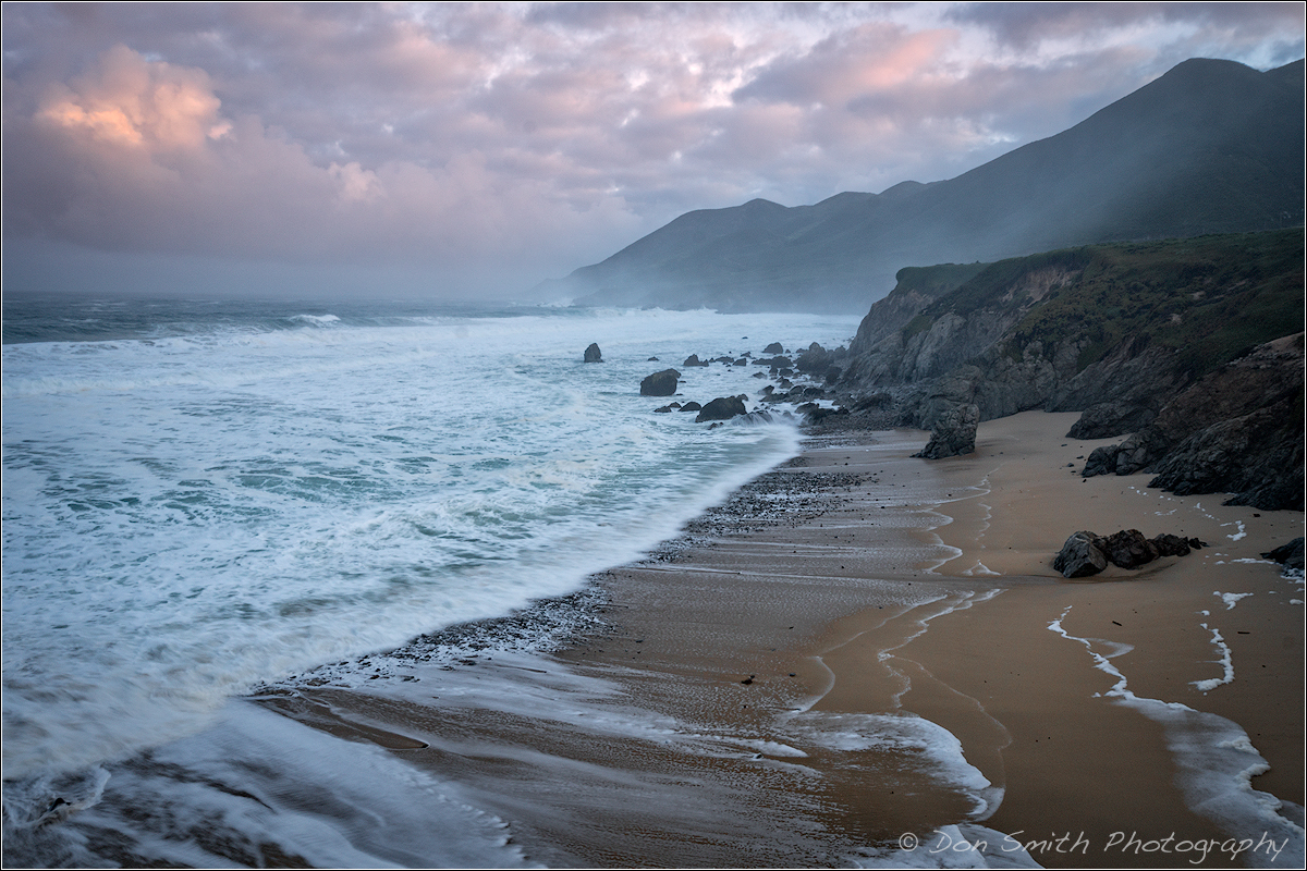Misty Morning Garrapata Beach Natures Best By Don Smith