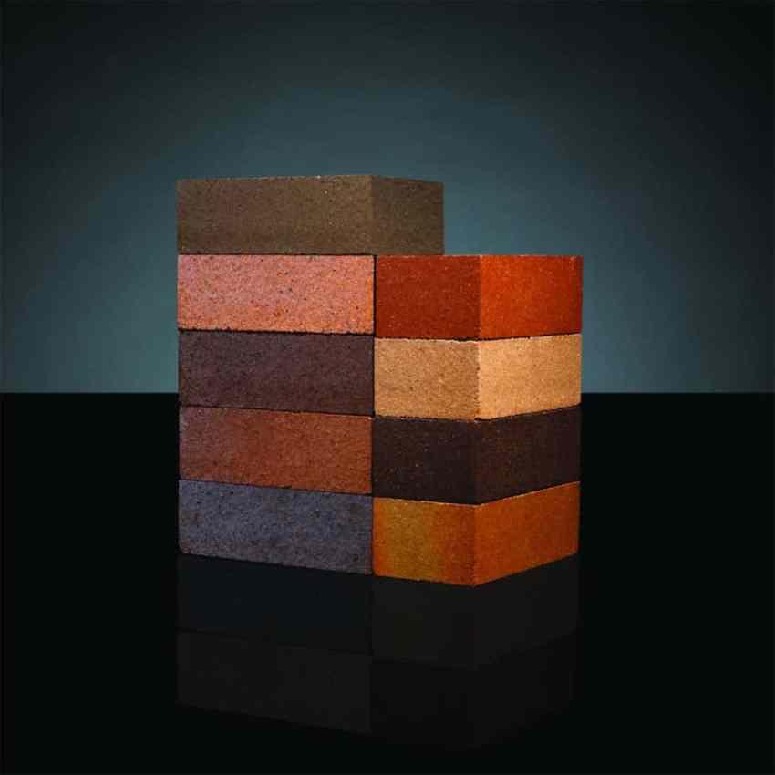 dry pressed bricks