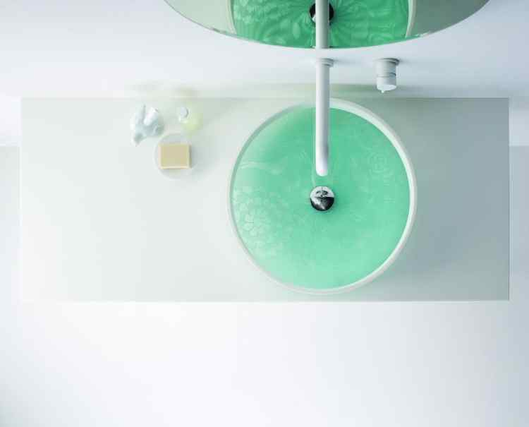 Motif Basin Kaleidescope courtesy of Candana Bathroom Wares