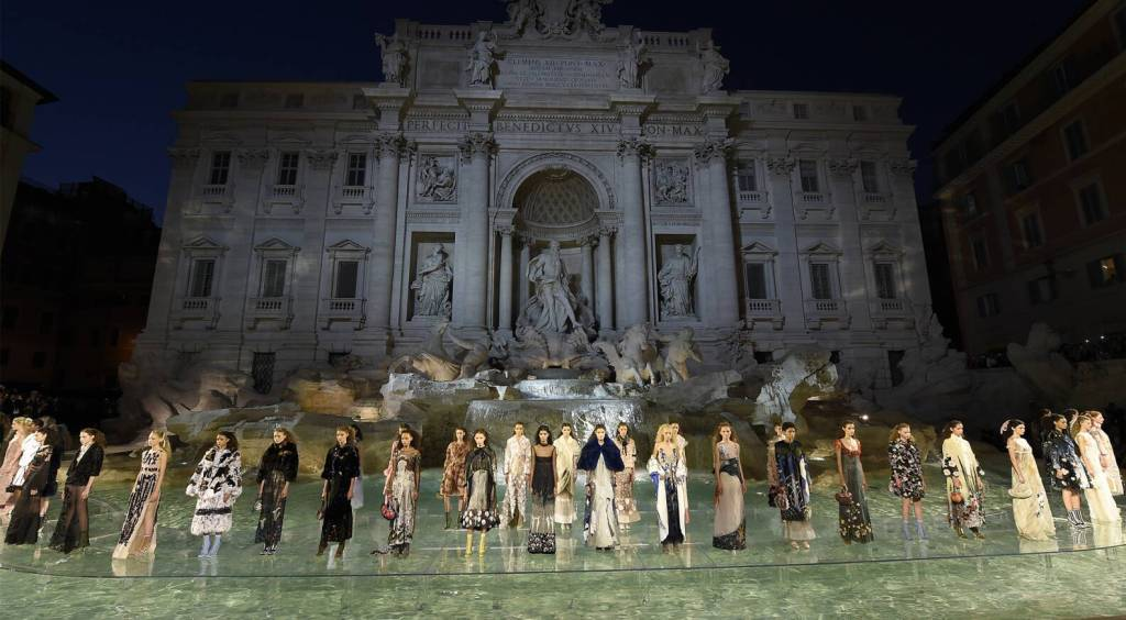 Fendi's 90th Anniversary Show in Rome (2016)