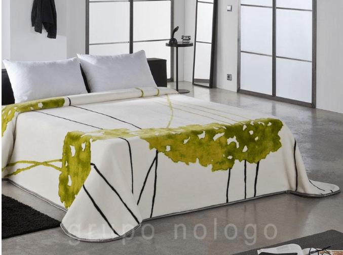 originales mantas de cama de pielsa; manta aterciopelada pielsa