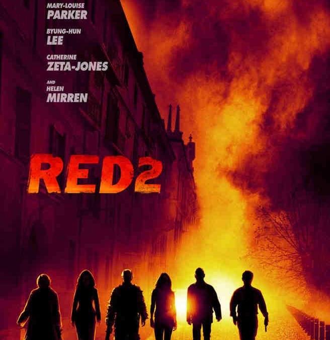 'Red 2' gets a teaser poster