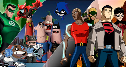 DC Nation returns today at 10am on Cartoon Network!
