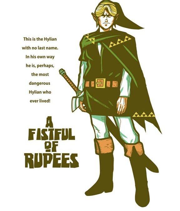 Legend of Zelda [Full] movie: Fistfull of Rupees!