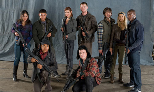 Red Dawn remake poster and trailer