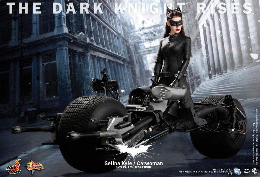 "The Dark Knight Rises Selina ""Catwoman"" Kyle premium action figure by Hot Toys coming soon"