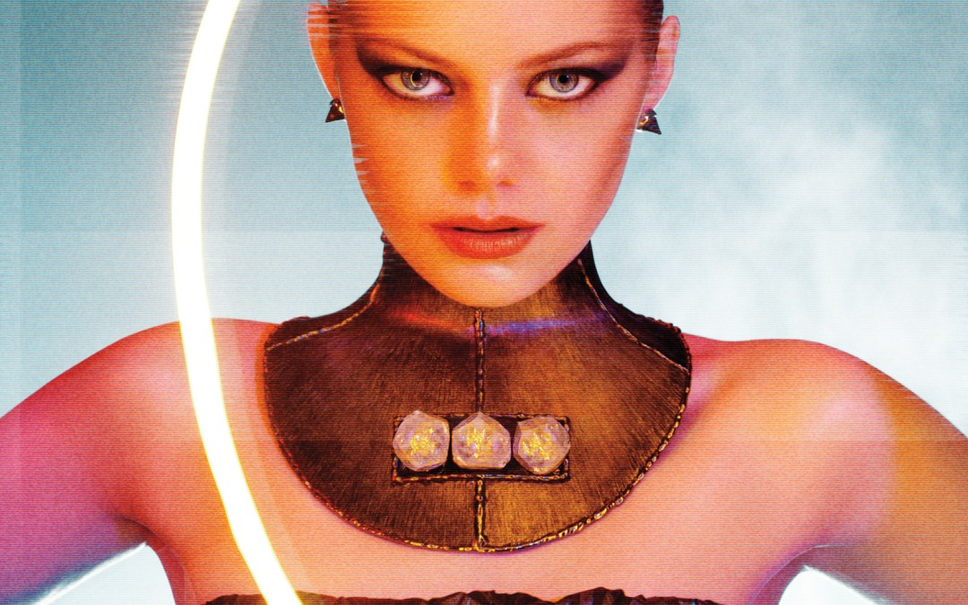 Emma Stone sheds 'The Girl Next Door' look and shows her Replicant side in these 'Bladerunner' tribute pictures
