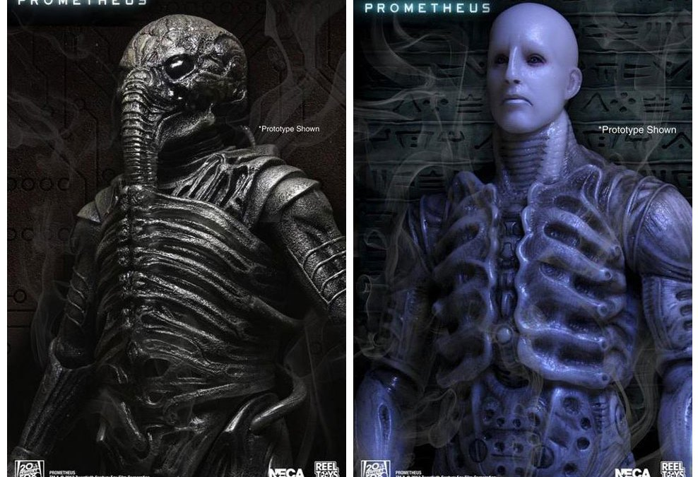 NECA shows off their Prometheus series 1 action figures