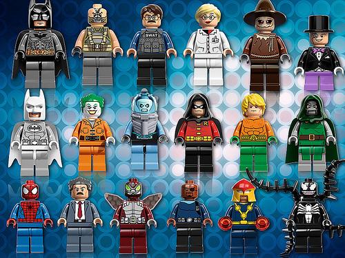 Rumored 2013 LEGO Superhero sets