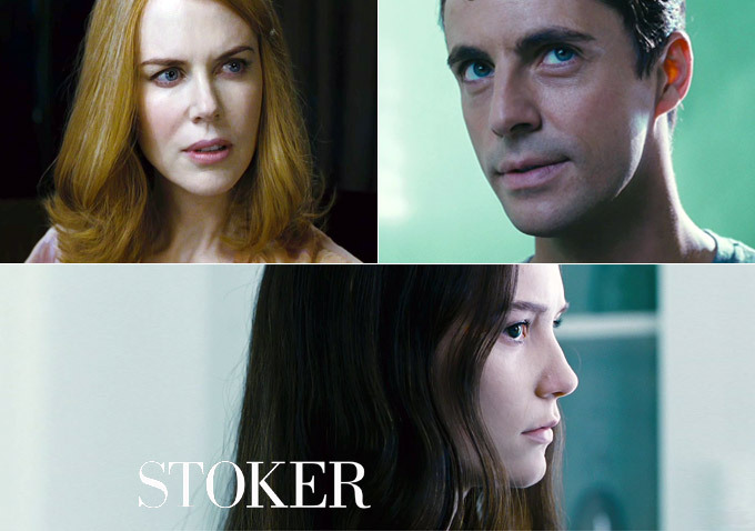 Stoker trailer shows Park Chan-Wook's take on family values