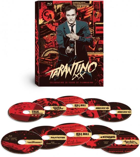 Quentin Tarantino's movies get Mondo-riffic in new bluray set