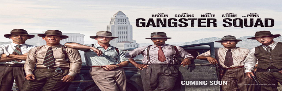 Gangster Squad gets new trailer and seven character posters