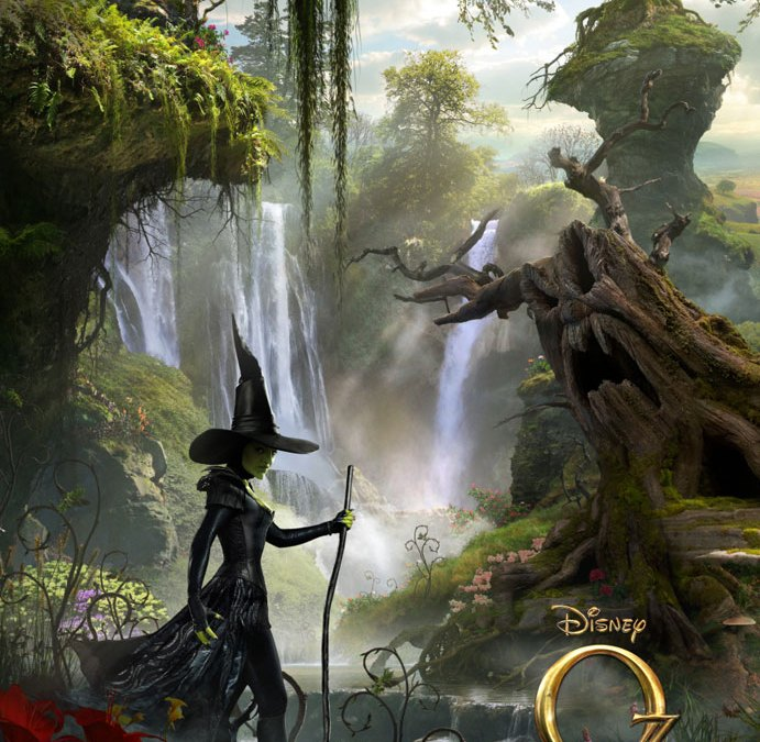 Oz: The Great and Powerful poster has the Wicked Witch coming for you!