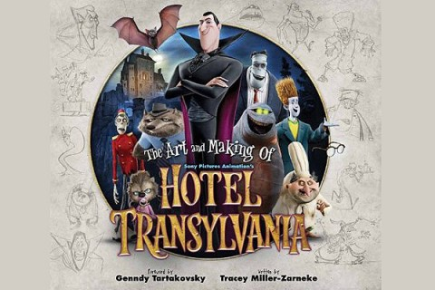 The Art and Making of Hotel Transylvania book review by Chaz