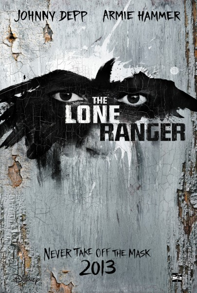 The Lone Ranger new teaser trailer- also poster and images