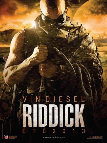 Riddick international one-sheet poster hits!!