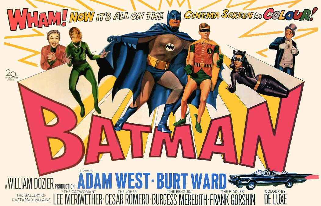 Holy Sculpted Plastic Batman! Mattel announces 1960's Batman TV Show Action Figure Series!