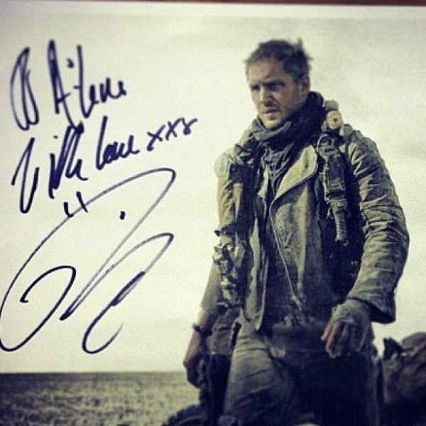 Mad Max: Fury Road- first look at Tom Hardy from the film?