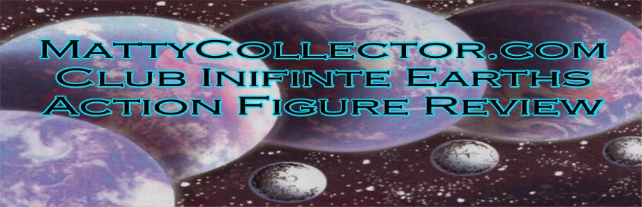 DC Universe Classics 'Club Infinite Earths': Saint Walker from MattyCollector.com reviewed by CynicNerd