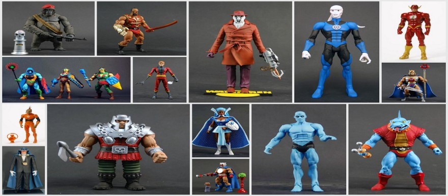 MattyCollector.com June 16th Sale featuring Red Hood, Octavia, and NEW flying stands!