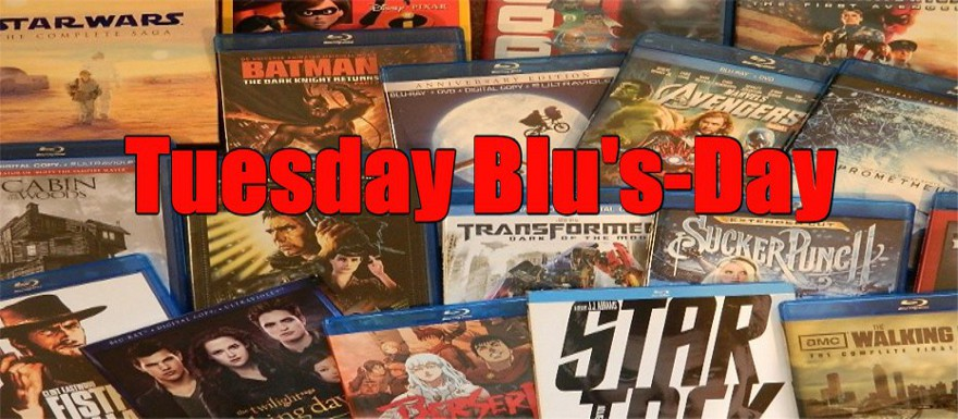 TUESDAY BLU'S DAY – NEW RELEASES ON BLU-RAY 5/22/18