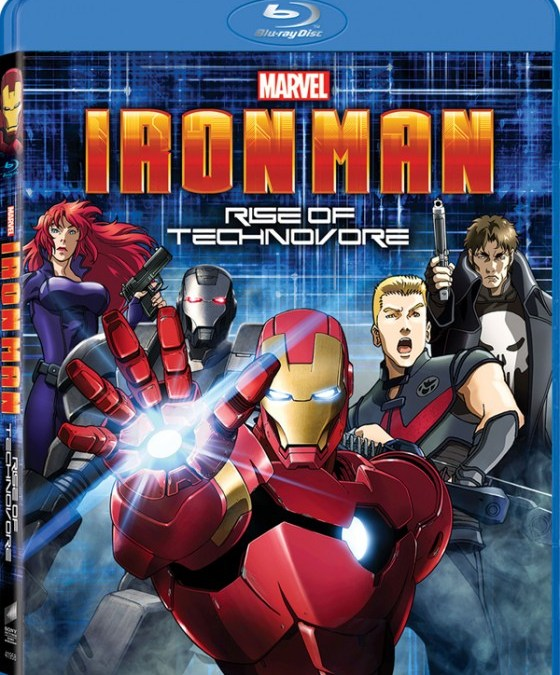 Iron Man animated movie Rise of Technovore gets another trailer!