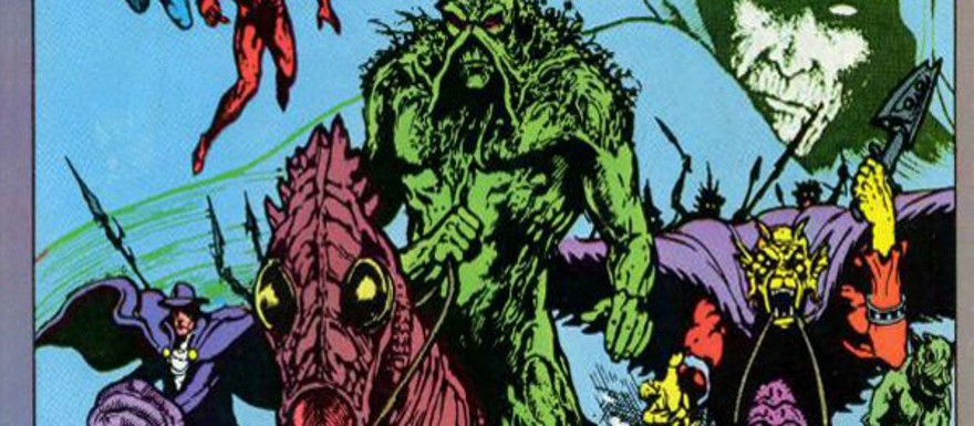 Guillermo Del Toro's Dark Universe to feature Constantine, Swamp Thing, Zatanna, Etrigan, and Floronic Man!?