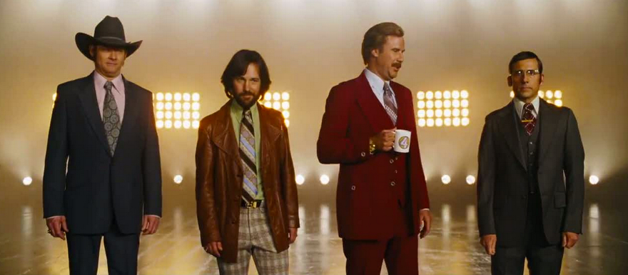 Anchorman 2: The Legend Continues- The Channel 4 News Team