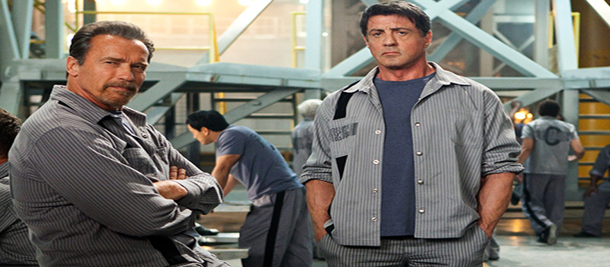 Escape Plan- two new posters bring the big guns of Stallone and Schwarzenegger