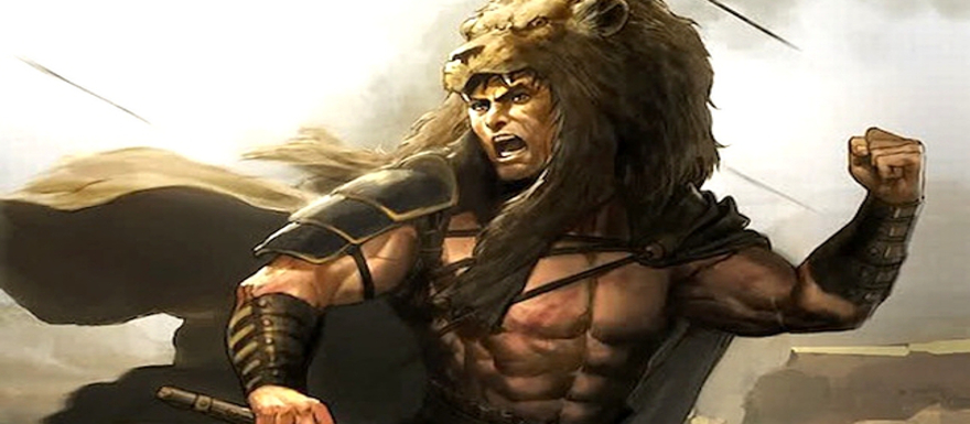 Hercules: The Thracian Wars- new images show off scarred Herc and huge set!