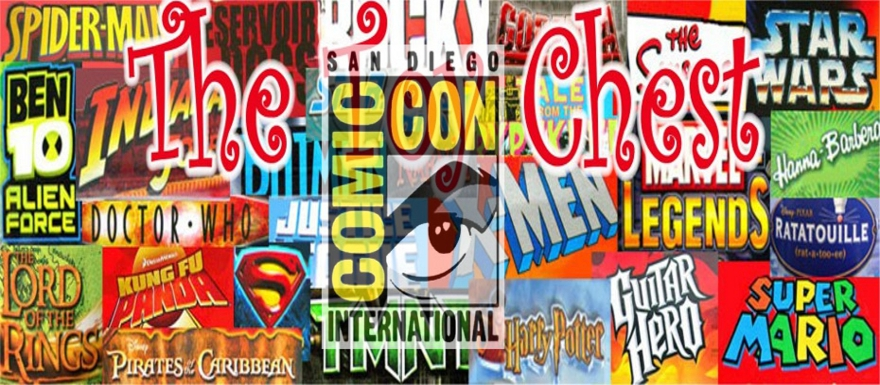 SDCC 2013 Special Edition of The Toy Chest: The Partnerships of Hasbro and Marvel & Mattel and DC