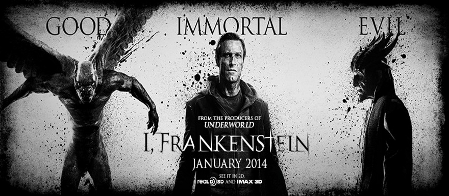 I, Frankenstein – A great look at one of the monsters from the film and a latest movie poster!
