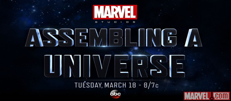 """Marvel Studios and ABC to air TV special """"Assembling a Universe"""" on March 18th"""
