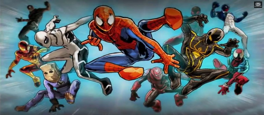 Spider-Man Unlimited releases it's release trailer from Gameloft mobile game!