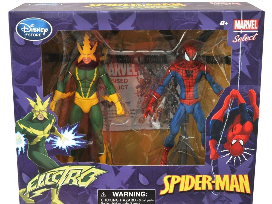 Diamond Select Toys unveils Marvel Select Spider-Man vs. Electro box set!