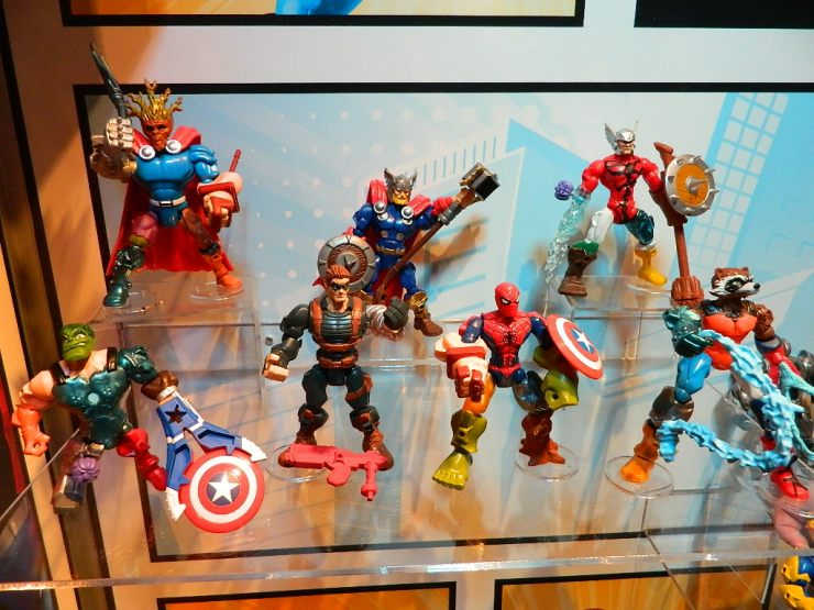 Hasbro Marvel Mashers 01