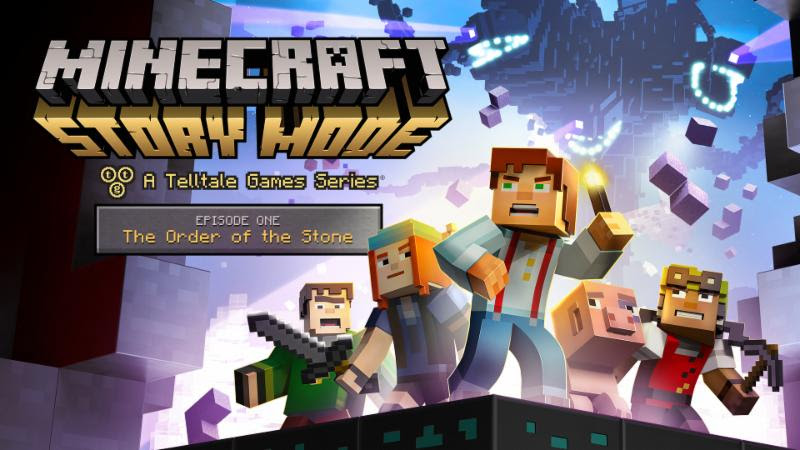 Minecraft Story Mode A Telltale Games Series Gets All New Order Of The Stone Trailer Cast Details And Hollywood Premiere Don T Forget A Towel