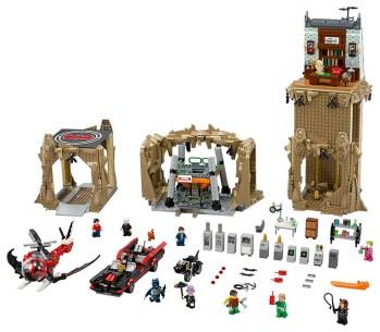 LEGO batcave 12