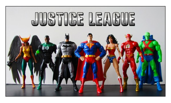 Justice League Cartoon Mattel DC Universe Classics Team build