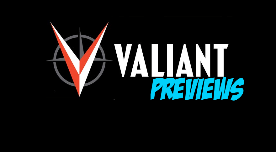 Valiant Previews: NINJA-K #1 & BLOODSHOT SALVATION #3