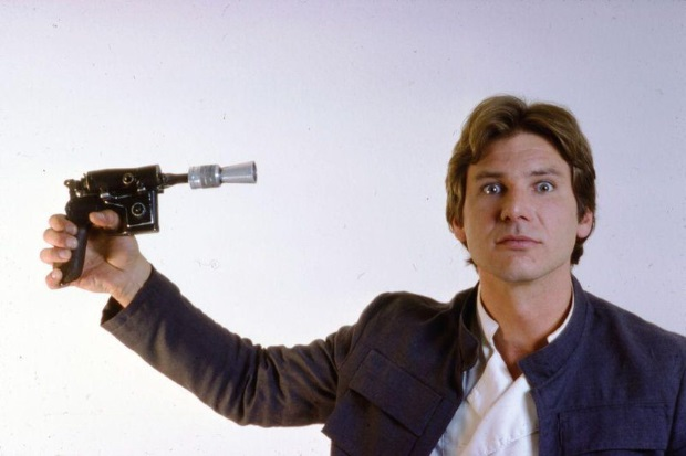 Create your own $10 Replica Han Solo Blaster with 3D Printing!