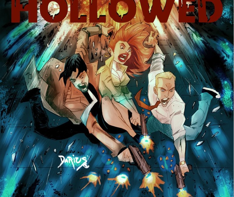 DFAT Comics – Hollowed Issue 1 Comic Book & Soundtrack Now Available!