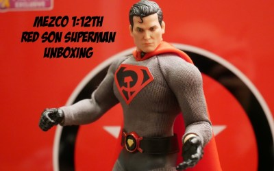 Mezco One:12 Collective Red Son Superman Unboxing